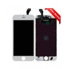 "Aftermarket LCD Screen and Digitizer Assembly, White, for iPhone 6 (VI) (4.7"")"